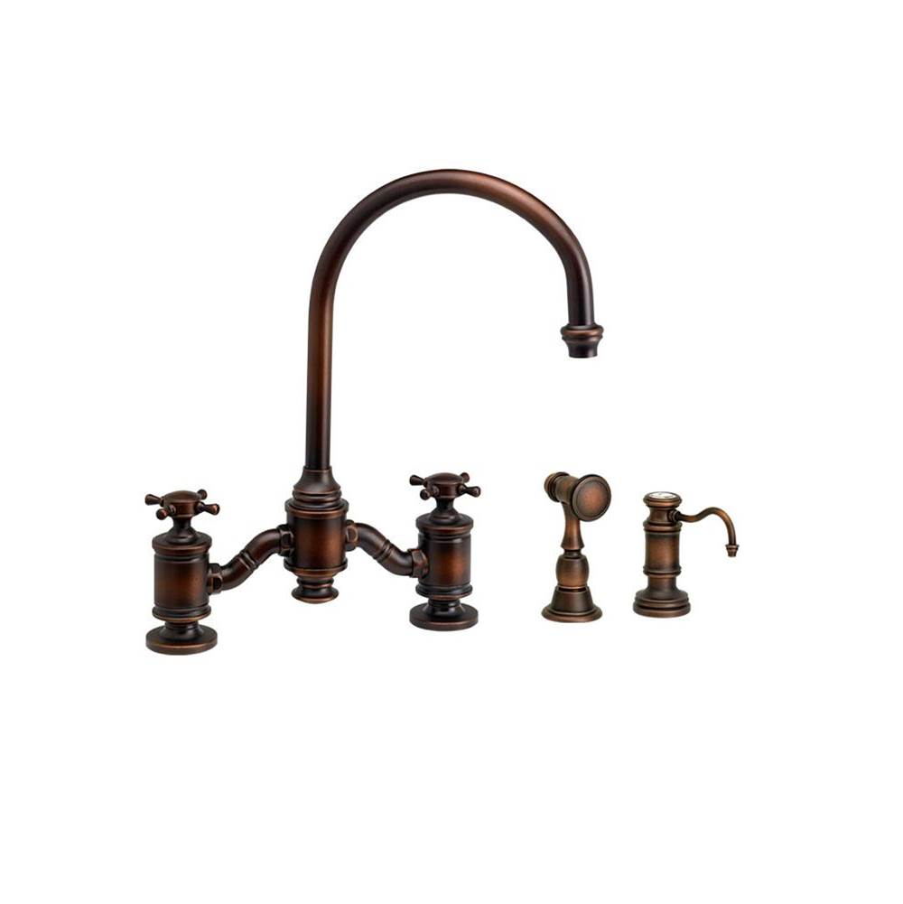 Waterstone Bridge Kitchen Faucets item 6350-2-BLN