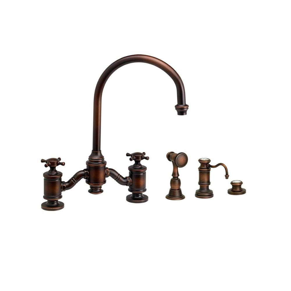 Waterstone Bridge Kitchen Faucets item 6350-3-SB