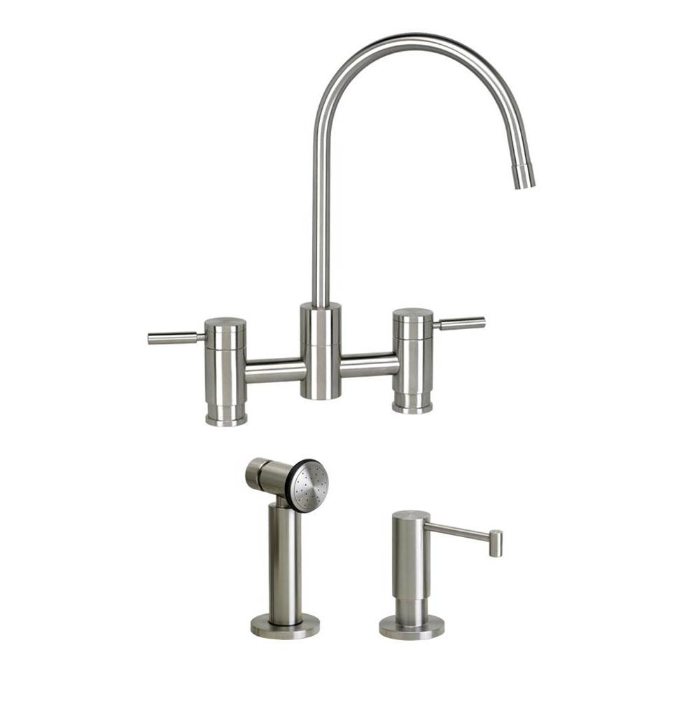 Waterstone Faucets Kitchen Faucets Pewter   Henry Kitchen and Bath ...