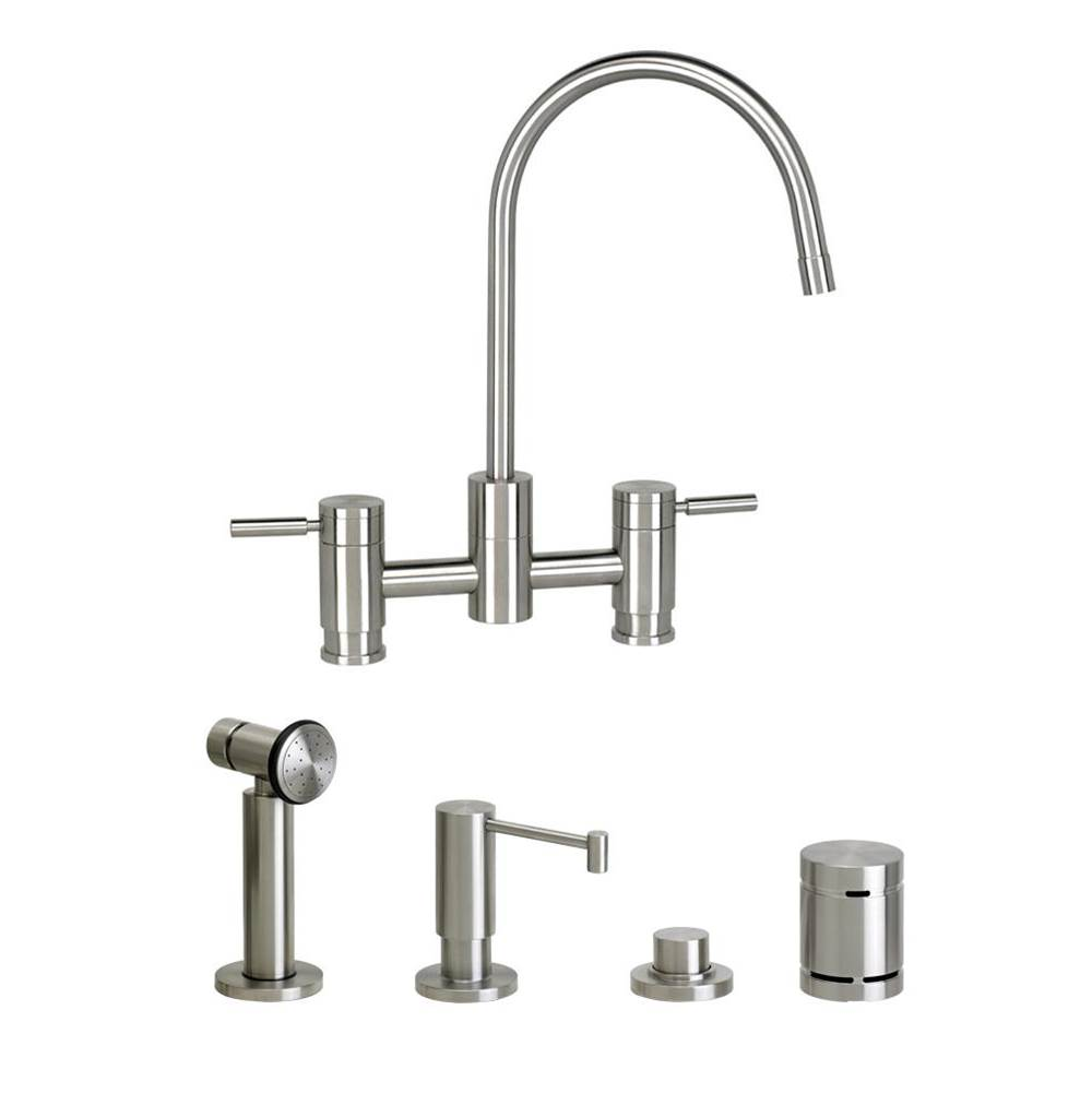 Waterstone Bridge Kitchen Faucets item 7800-4-SB