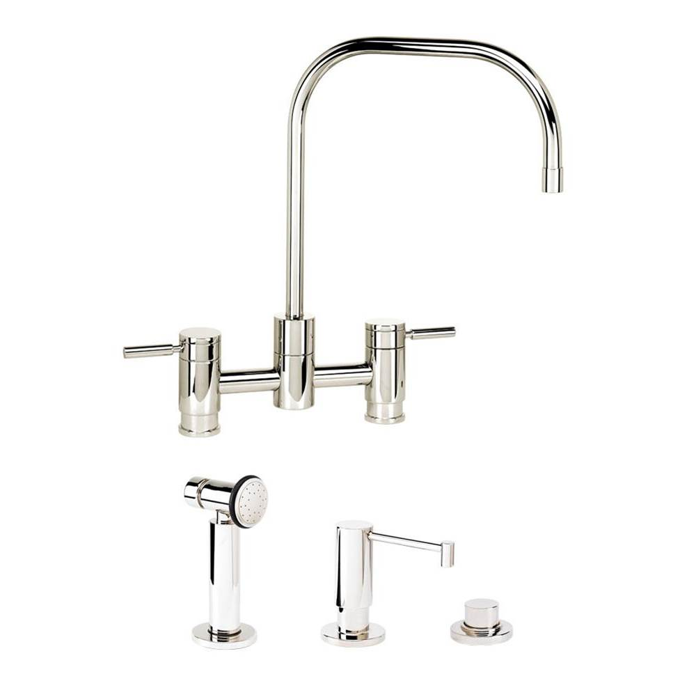 Waterstone Bridge Kitchen Faucets item 7825-3-SS