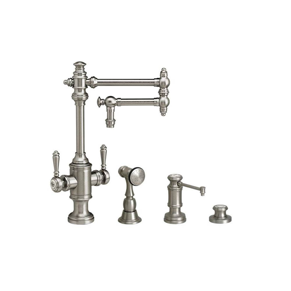 Waterstone Single Hole Kitchen Faucets item 8010-12-3-AB