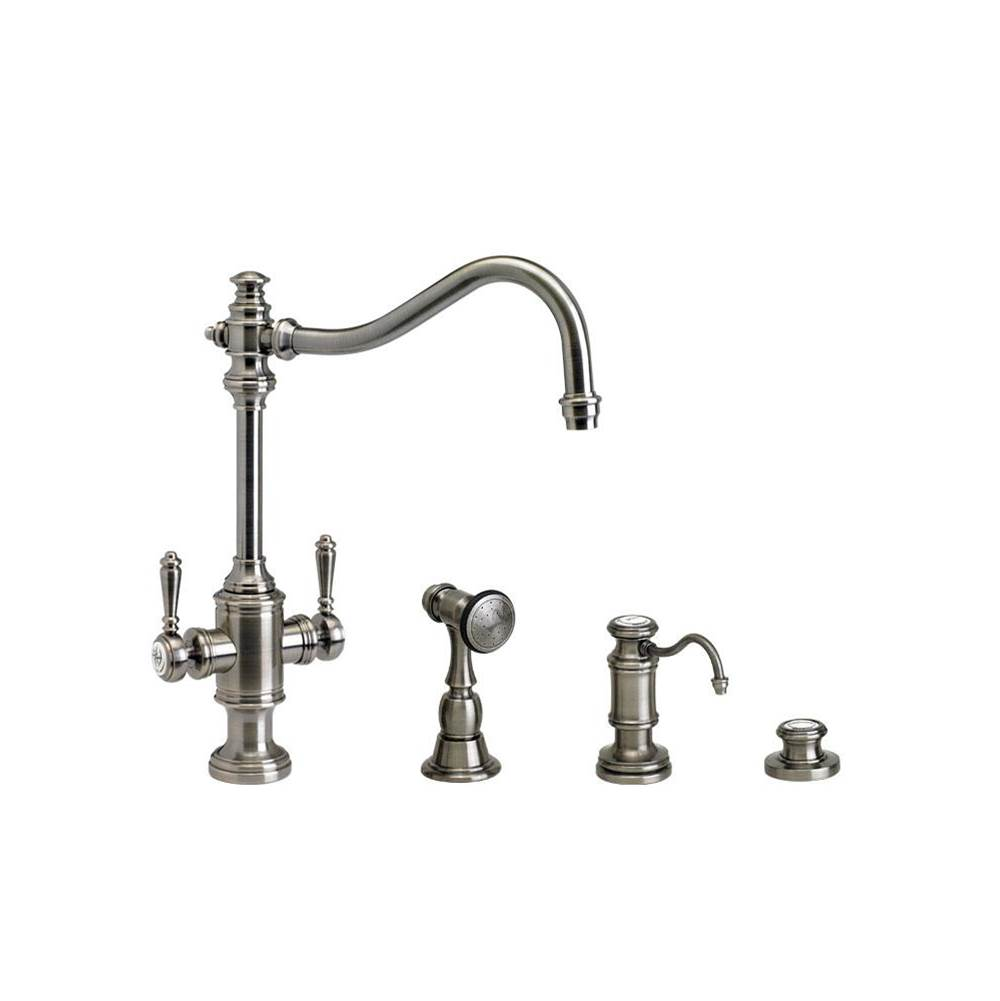 Waterstone Single Hole Kitchen Faucets item 8020-3-CH