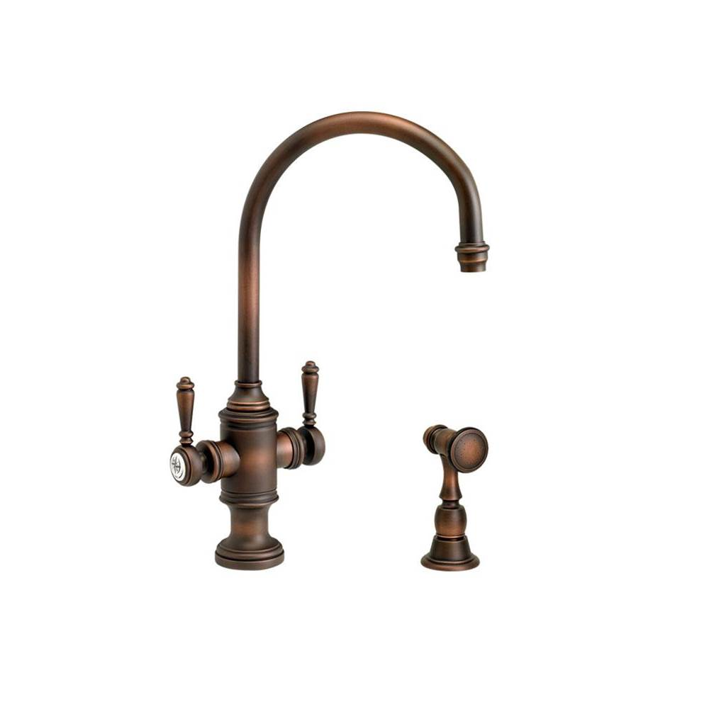 Waterstone Single Hole Kitchen Faucets item 8030-SC