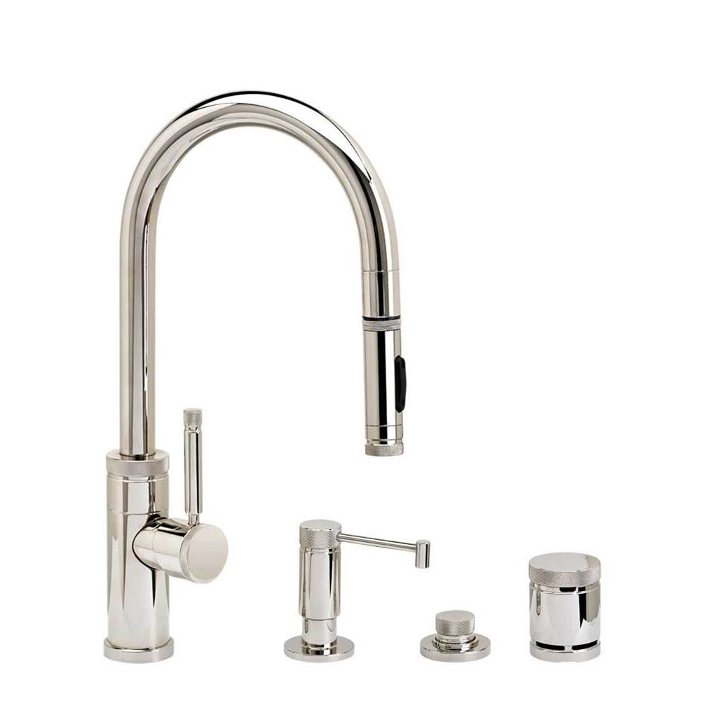 Waterstone Pull Down Faucet Kitchen Faucets item 9900-4-DAMB